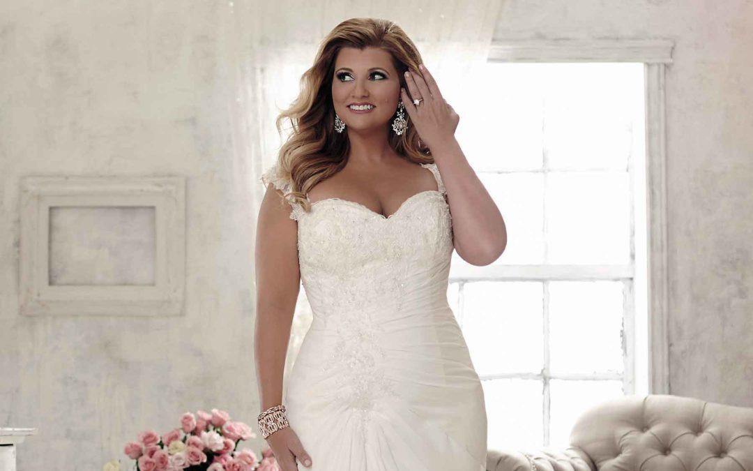 Jak dobrać suknię ślubną w rozmiarze PLUS SIZE?